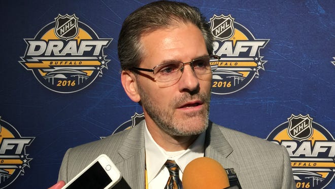 Flyers general manager Ron Hextall would like to improve the team as long as the price is right.