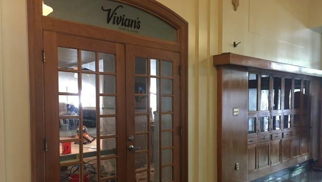 Vivian's Diner & Drinks opens in August in the Hotel Kirkwood building.