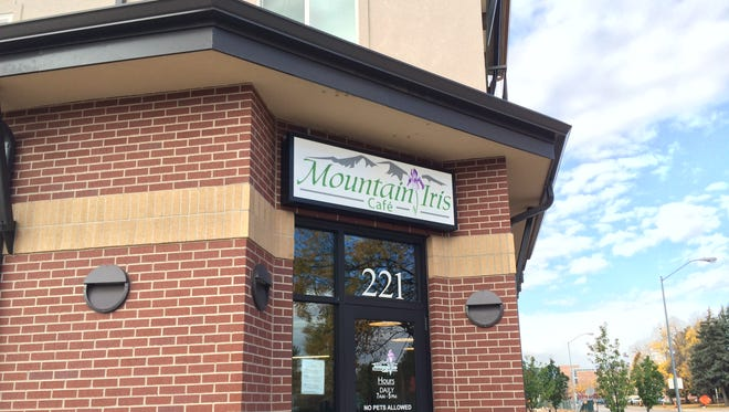 Mountain Iris Cafe opened earlier this month at a former B's Coffee at Prospect Station.