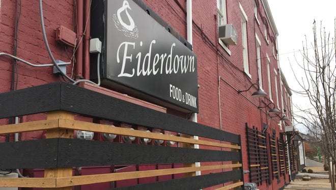 Eiderdown, on Goss Avenue, has closed for two weeks to revamp it's menu.