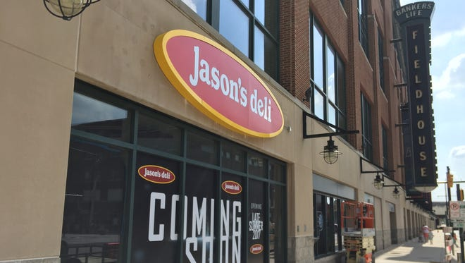 Jason's Deli will open in Bankers Life Fieldhouse in the spot left vacant by Dunkin Donuts this summer.