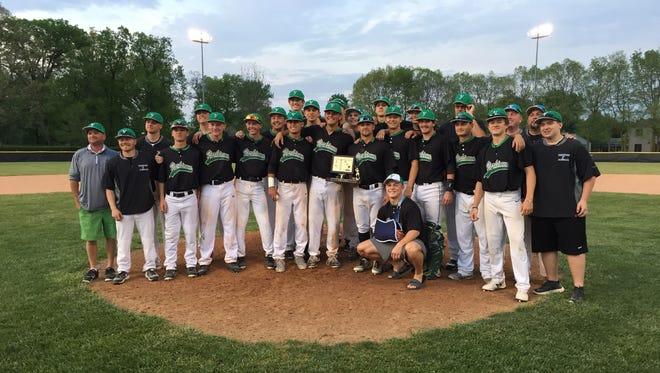 Yorktown beats Cowan for the 2018 Delaware County baseball championship.