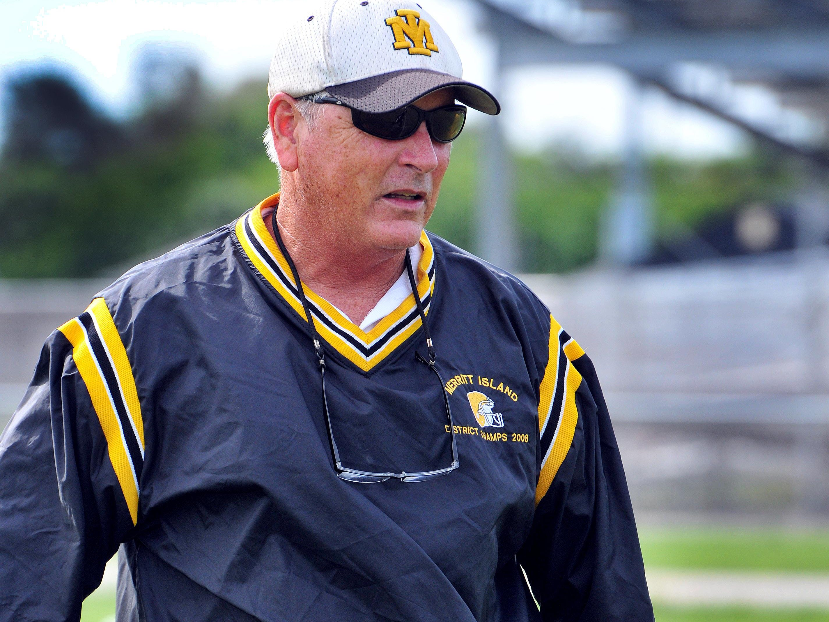 Merritt Island High head football coach and A.D. Jeff McLean