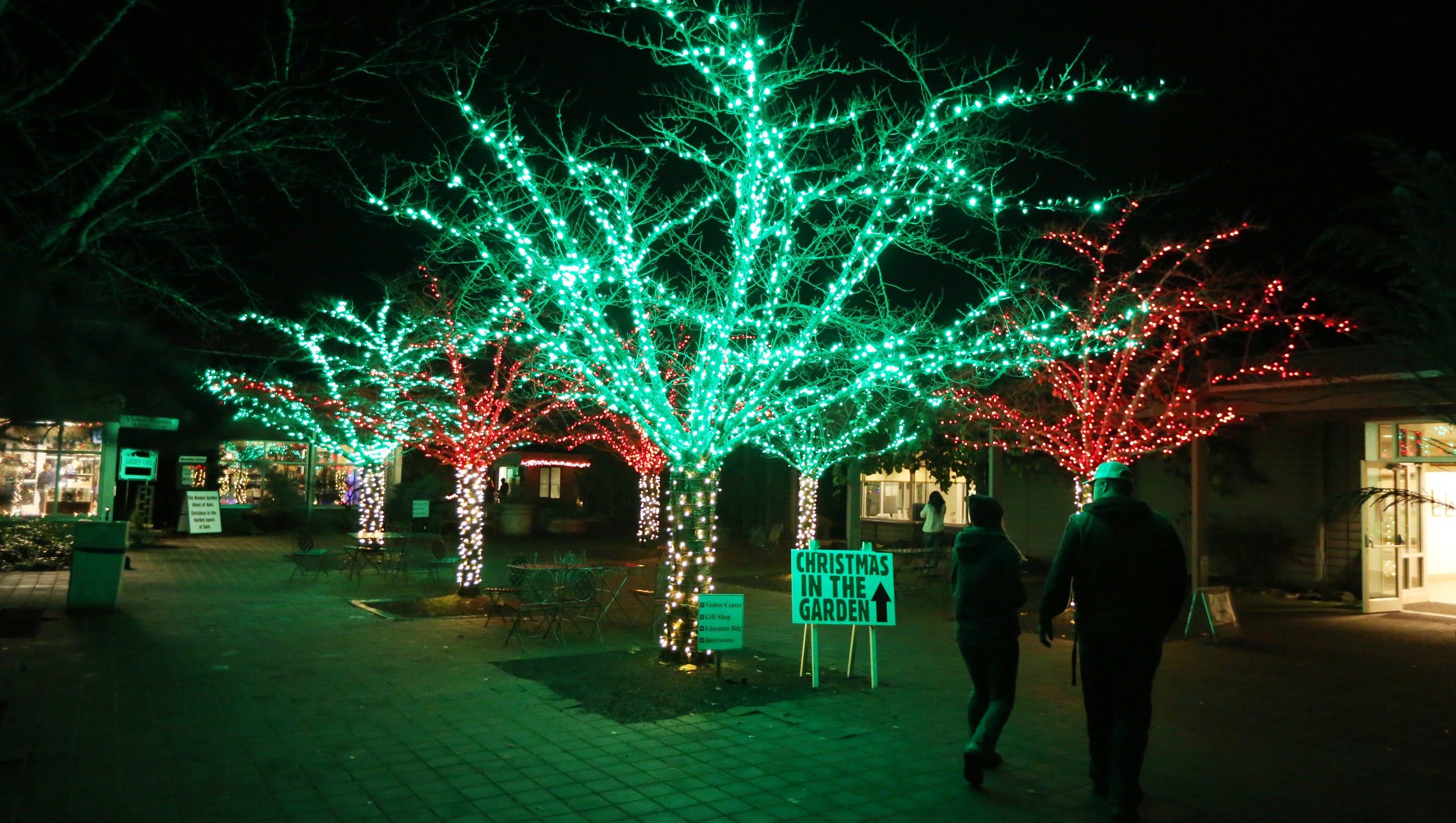 Christmas in the Garden opens in Silverton