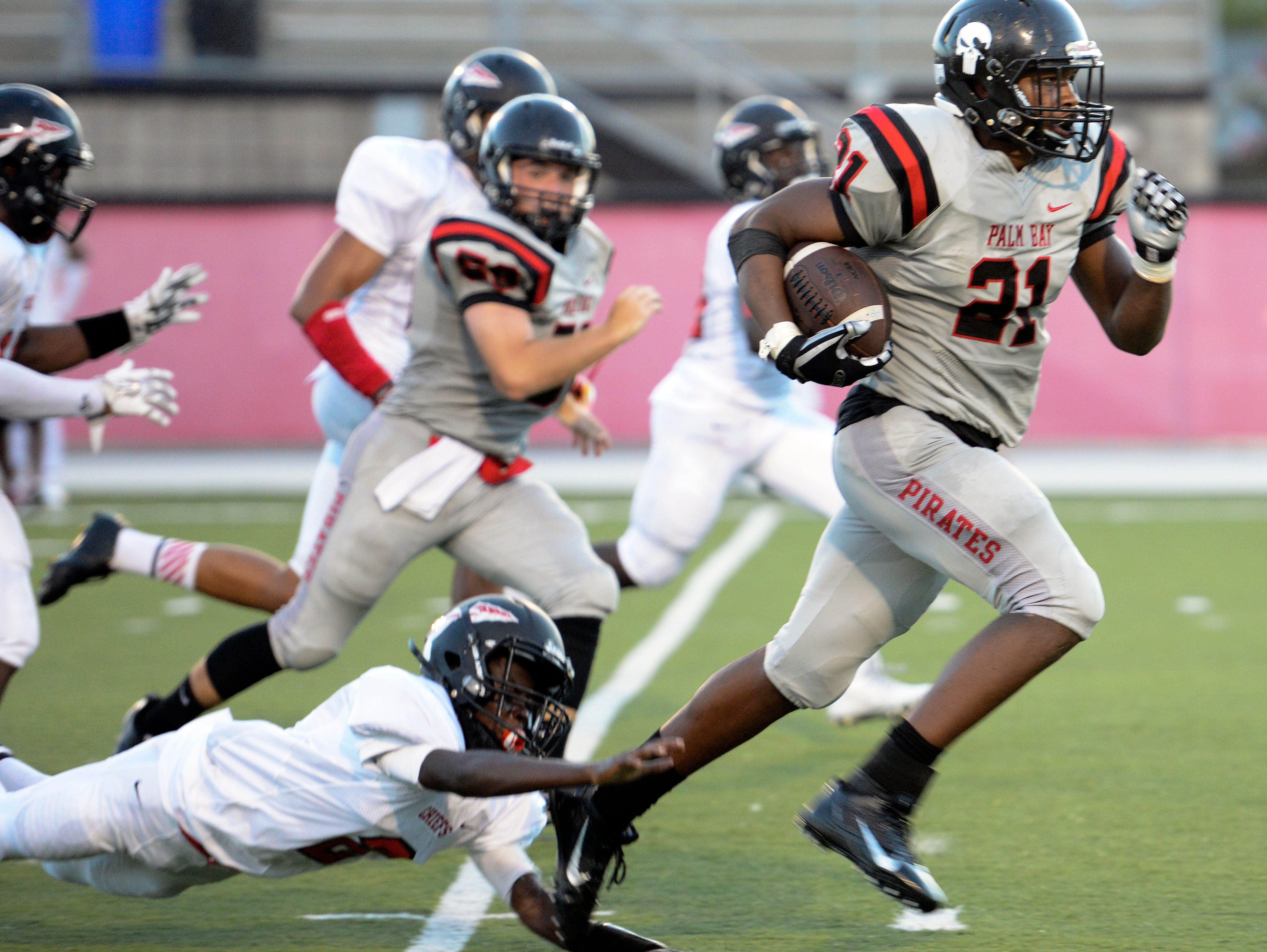 Palm Bay moved up to No. 7 in this week's Associated Press high school football rankings.