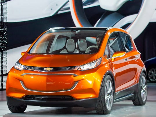 Gm Sees Electric Future But Trucks Drive Profits Now