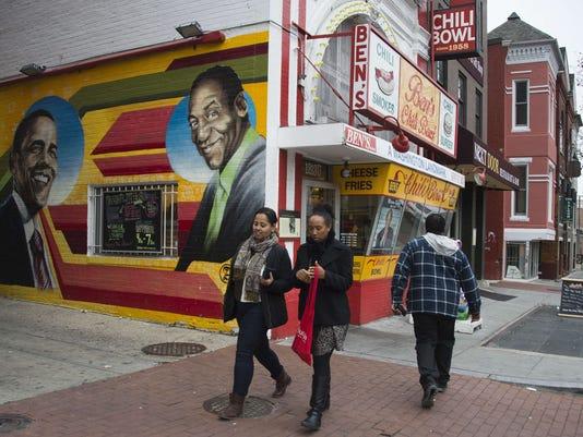 Bill Cosby mural Washington