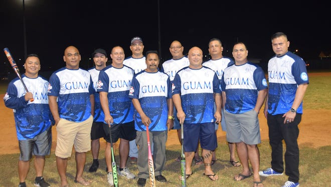 Members of the Bud Light Guam GISA team that will travel to Polk County, Fla., are shown at the Paseo before their trip. They are from left: Russel Maratita, Benjie Pangelinan, Johnny McDonald, Keith Hattig, Mike Cepeda, Lawrence Idelbong, Herbie Hattig, Jess Sablan, Pat Alvarez, Jim Reyes and Tony Yatar.Not pictured are Pete Torres, Bob Meno, Pete Concepcion, Luis Camacho, Pete Aguon, Chris Guzman, Joe Rivera and Glen Nelson.