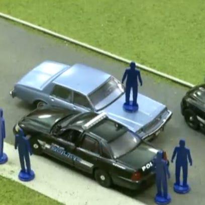 Police chase model