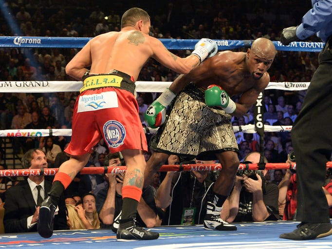 Mayweather will take home at least $32 million from the fight.