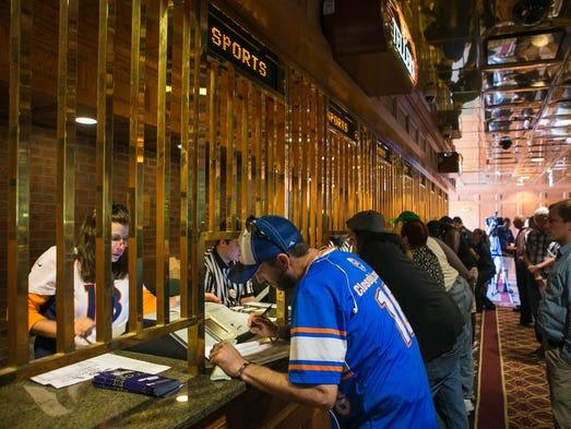 Delaware park casino nfl betting