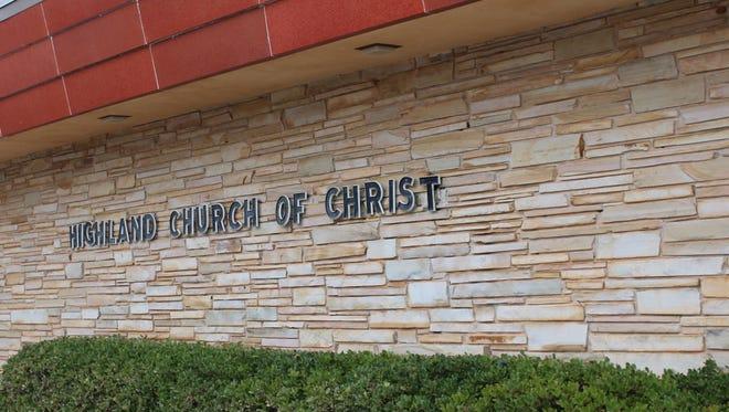 Highland Church of Christ.