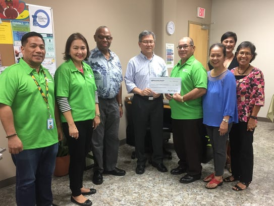 The Mountain Pacific Quality Health donated $1,500
