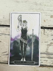 Queen of Swords.