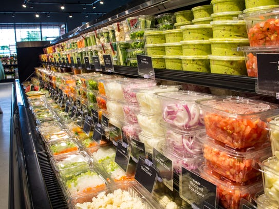 Pre-sliced fruits, cut veggies and other prepared produce