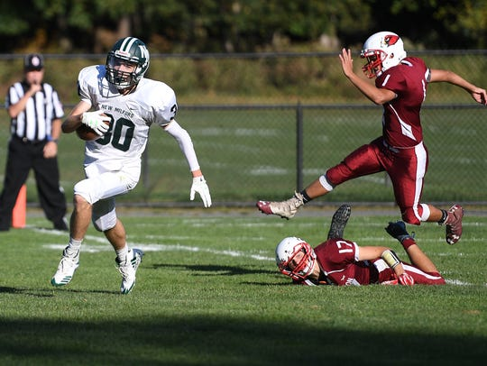 New Milford at Pompton Lakes on Friday, September 29,