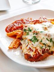 Classic veal parmigiana.