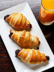 The chocolate croissants: a special that truly was special.
