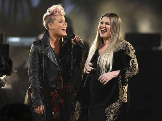 Pink,Kelly Clarkson