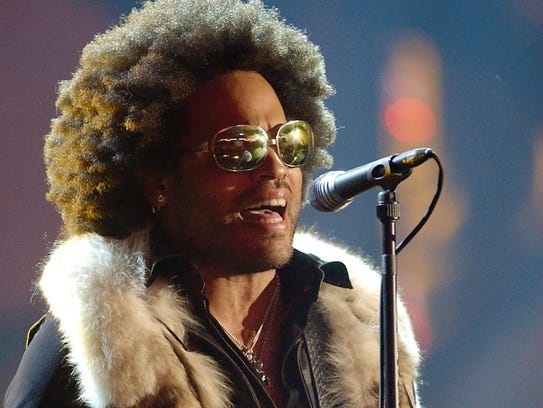 "Lenny Kravitz issued his ""Lenny"" album in 2001."