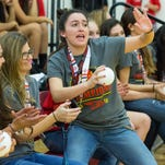 Centennial volleyball celebrates second state title win