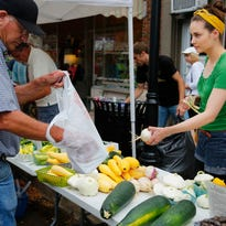 The Valley Junction farmers market is held 4-8 p.m. Thursdays, May through October.