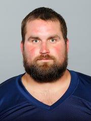 No. 64 guard Josh Kline
