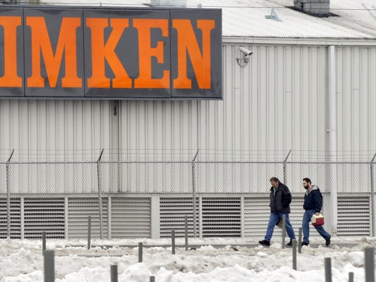 Temporary workers return at Timken