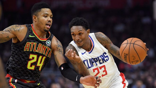 Clippers guard Lou Williams is the Journal Sentinel's NBA player of the week.
