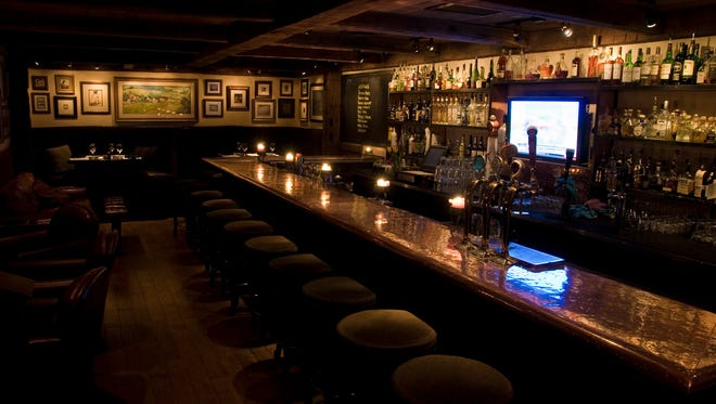 Head straight to the side door of this well-known central Phoenix restaurant and go down the stairs to this cozy, cave-like lounge with stone walls, copper bar and mood lighting.