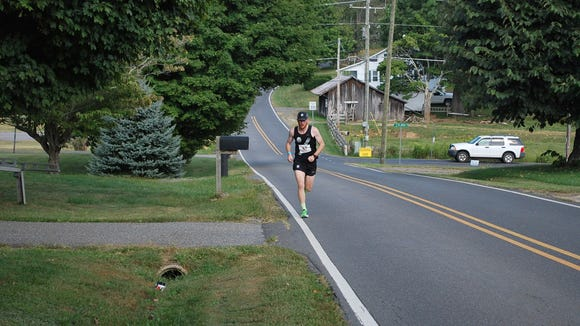 The 12-member Asheville Running Collective took second place by 10 seconds in the 206-mile Blue Ridge Relay.