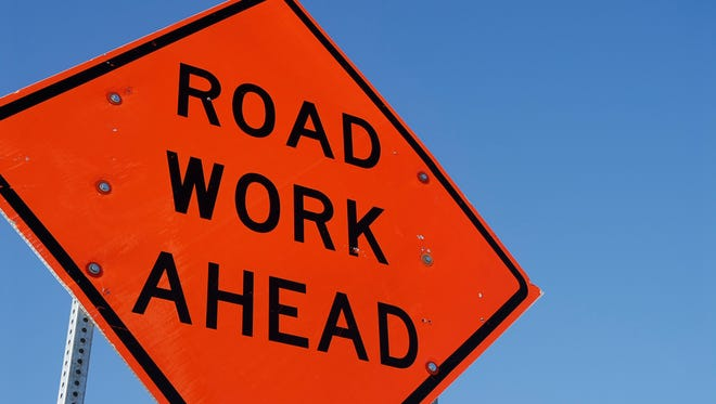 Road work may cause a dent in the afternoon drive to and from Crestview Elementary School on Friday. Plan ahead, officials say.