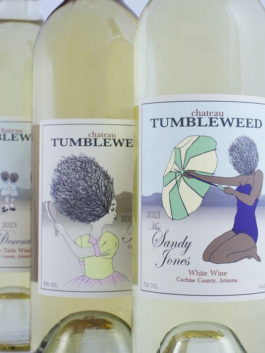 Chateau Tumbleweed bottles