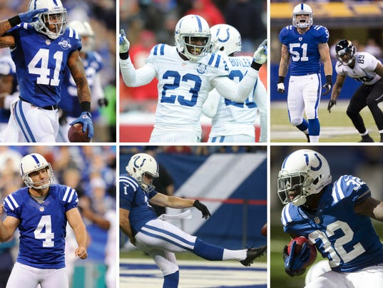 Colts Free Agency