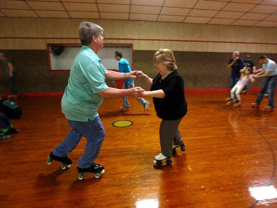 An adults-only night of roller skating? We're in.