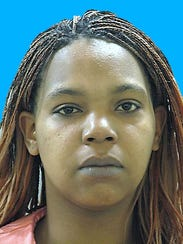 Maya Lewis was charged with first-degree assault, possessing