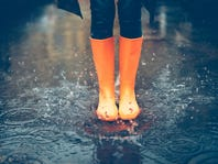 APRIL SHOWERS: New Rain Boots