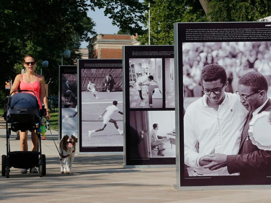 Arthur Ashe, missing Marilyn, pacifier-eating pup: News from around our 50 states