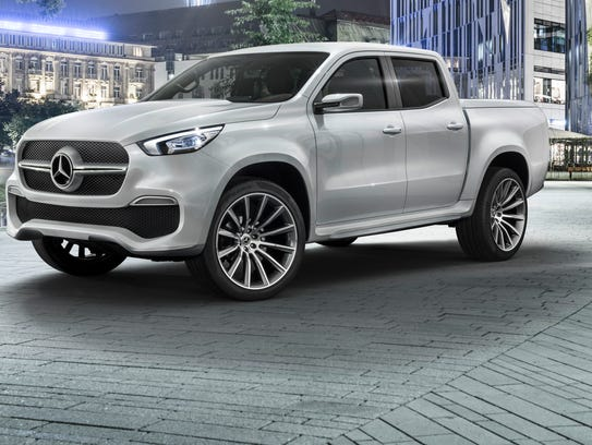 Mercedes-Benz show its concept for a pickup, the Concept