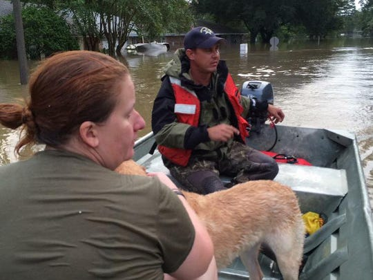 Rescue efforts in Southern Louisiana
