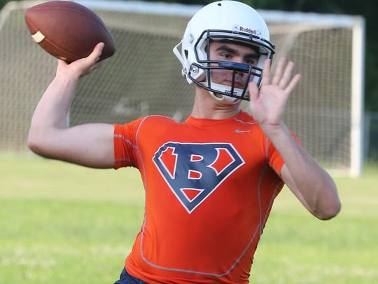 Blackman senior Miller Armstrong will make his first start of the season at quarterback on Aug. 22 against Alabama defending Class 6A state champion Clay-Chalkville.