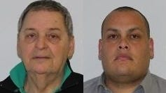 From left, David Reis, 71, of Wappinger, and Vincent Diaz, 38, of Millerton, face felony charges after they altered paperwork on car sales that allowed them to sell the low value trade-in vehicles for their own financial gain, state police said.
