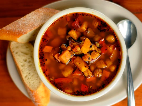 Gypsy Vegetable soup at Kavarna Coffeehouse in Green Bay.
