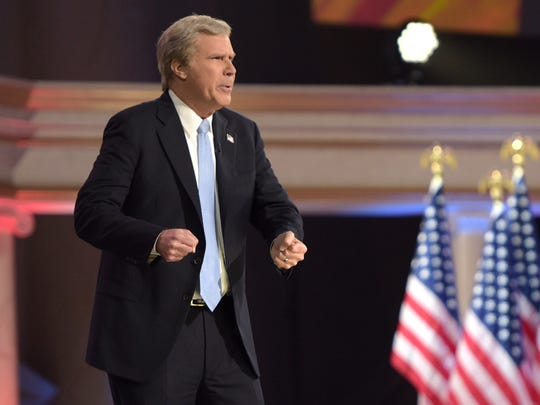 Will Ferrell revives his George W. Bush impression.