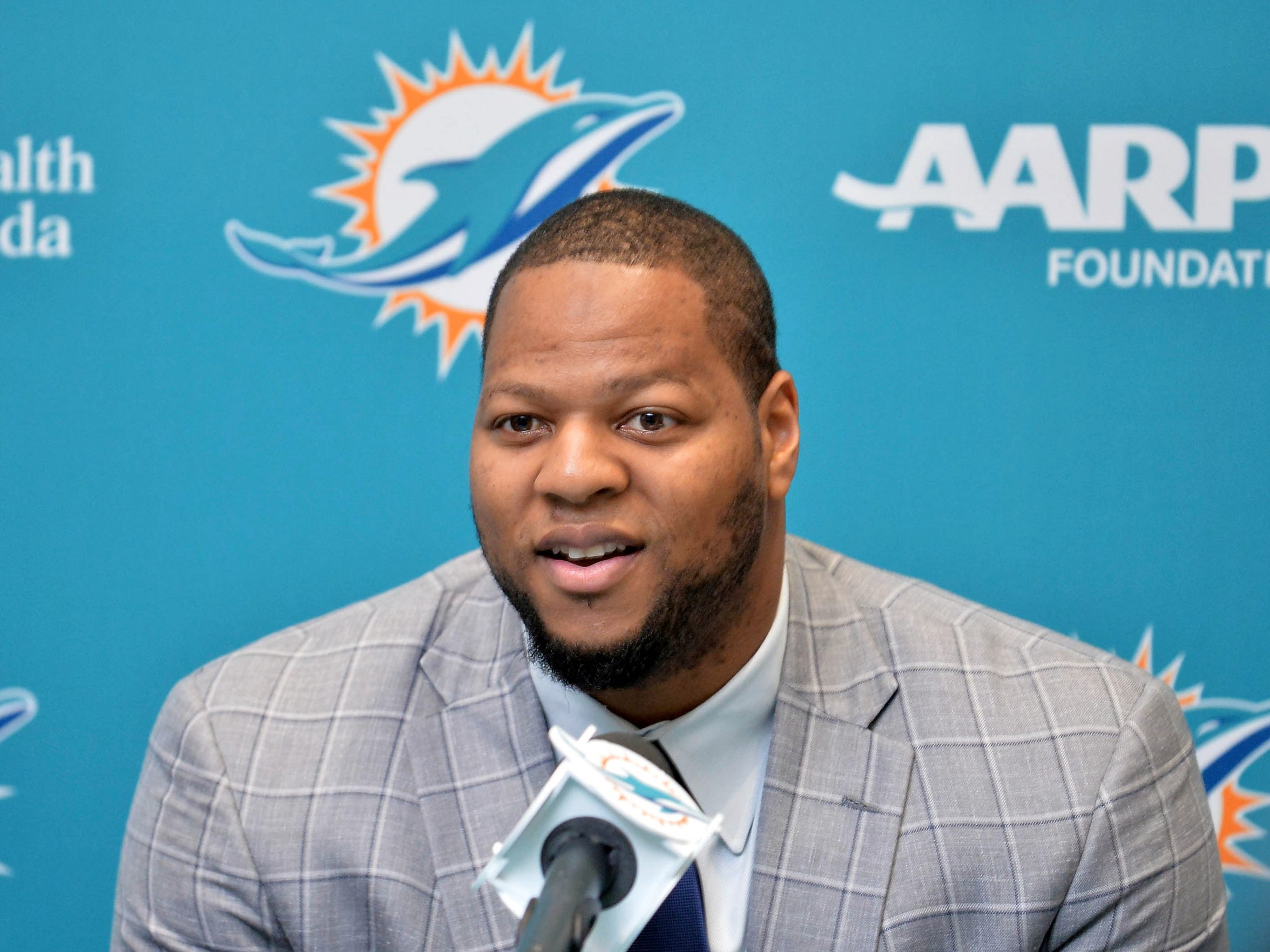Ndamukong Suh signed a $114-million deal with the Miami