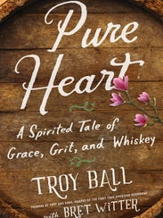 """The cover of """"Pure Heart"""" by Troy Ball."""