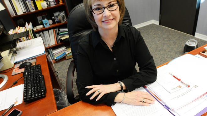 Vice Chancellor of Bossier Parish Community College Karen Recchia.