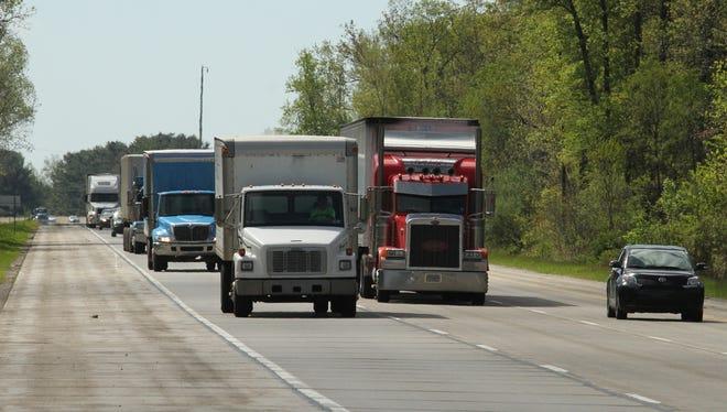 Look for lane closures this week on Interstate 96.