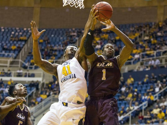 NCAA Basketball: Louisiana-Monroe at West Virginia