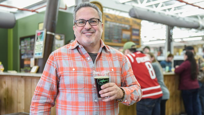 George Pastrana, president and COO of Dogfish Head Craft Brewery.